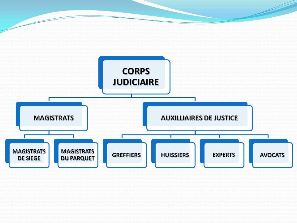 AUXILLIAIRES DE JUSTICE