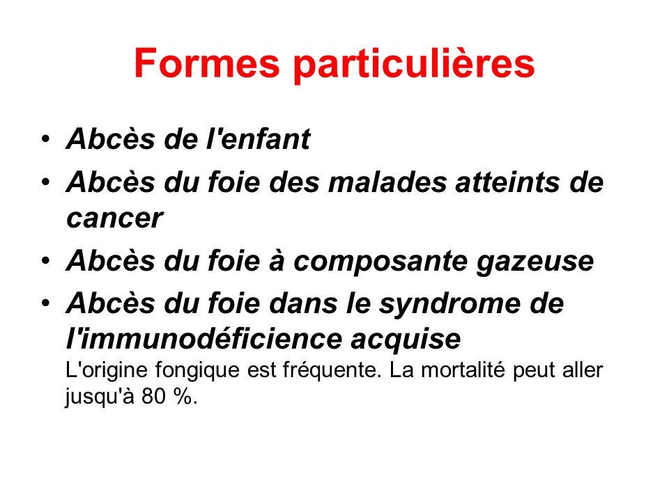 Formes particulières Abcès de l enfant