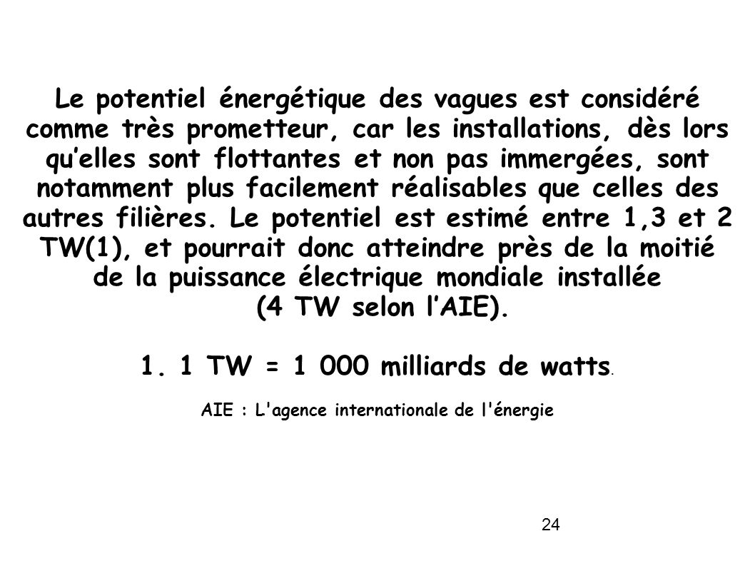 AIE : L agence internationale de l énergie