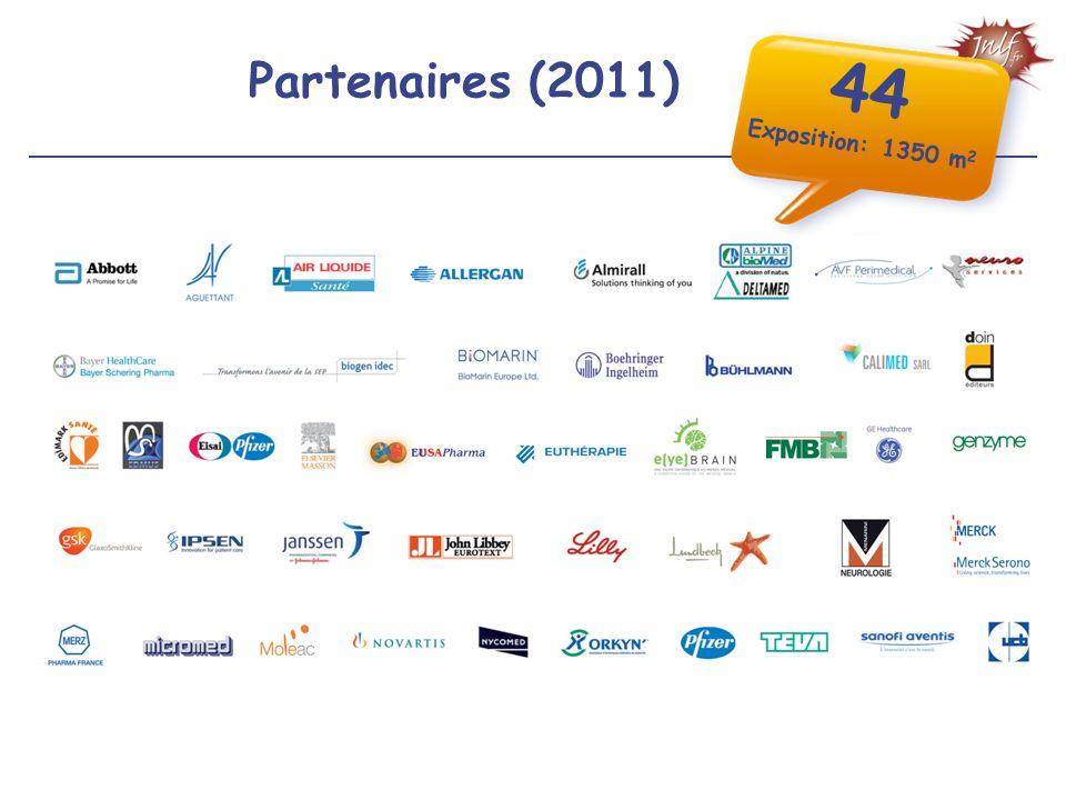 44 Exposition: 1350 m2 Partenaires (2011)