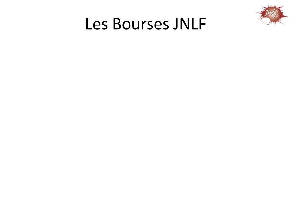 Les Bourses JNLF