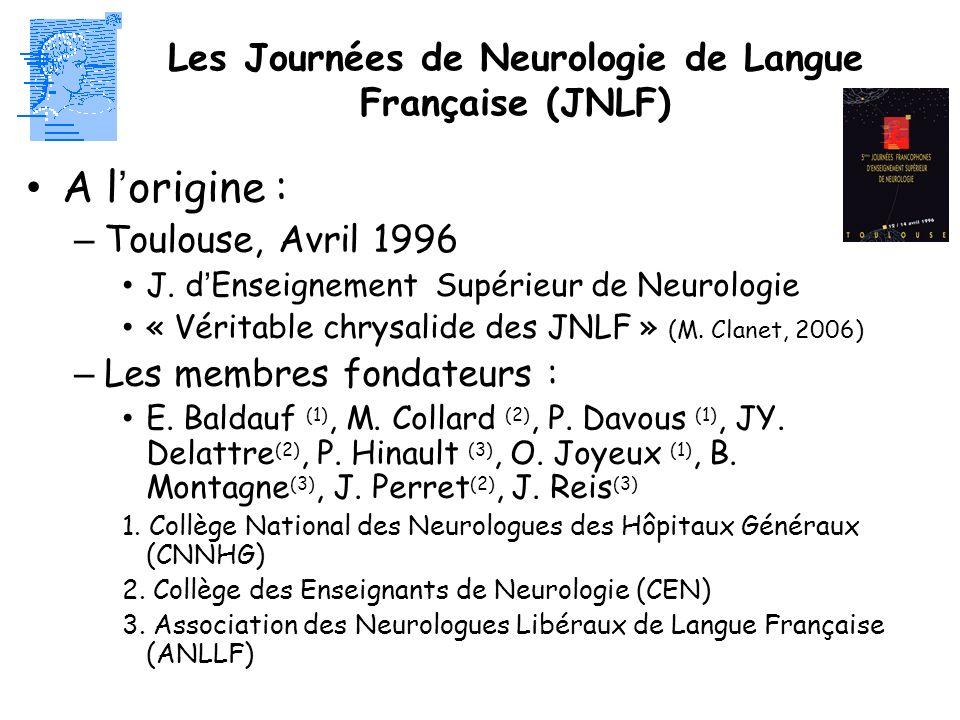 Les Journées de Neurologie de Langue Française (JNLF)