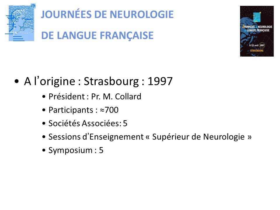 A l'origine : Strasbourg : 1997