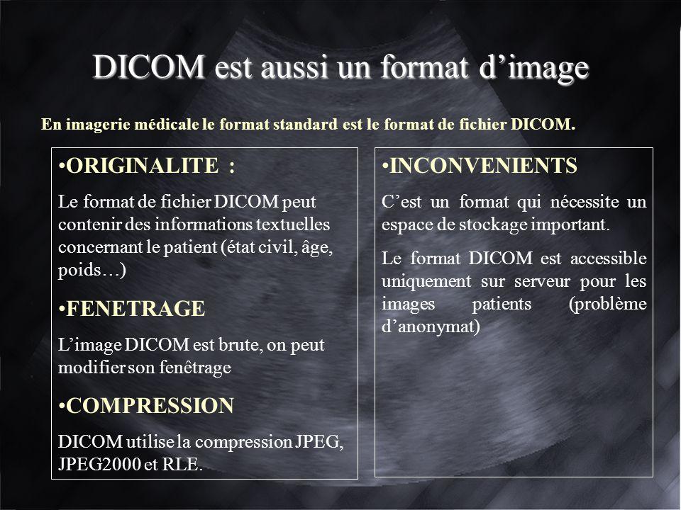 DICOM est aussi un format d'image
