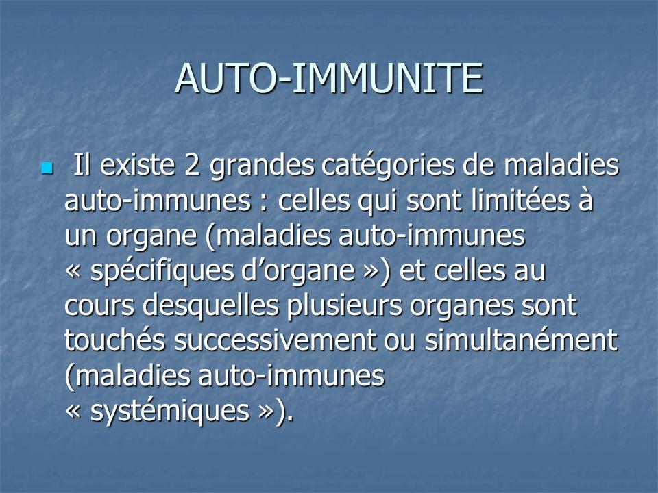 AUTO-IMMUNITE