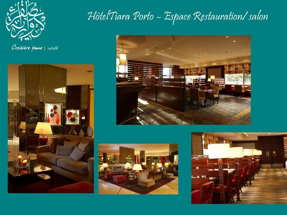HôtelTiara Porto – Espace Restauration/ salon
