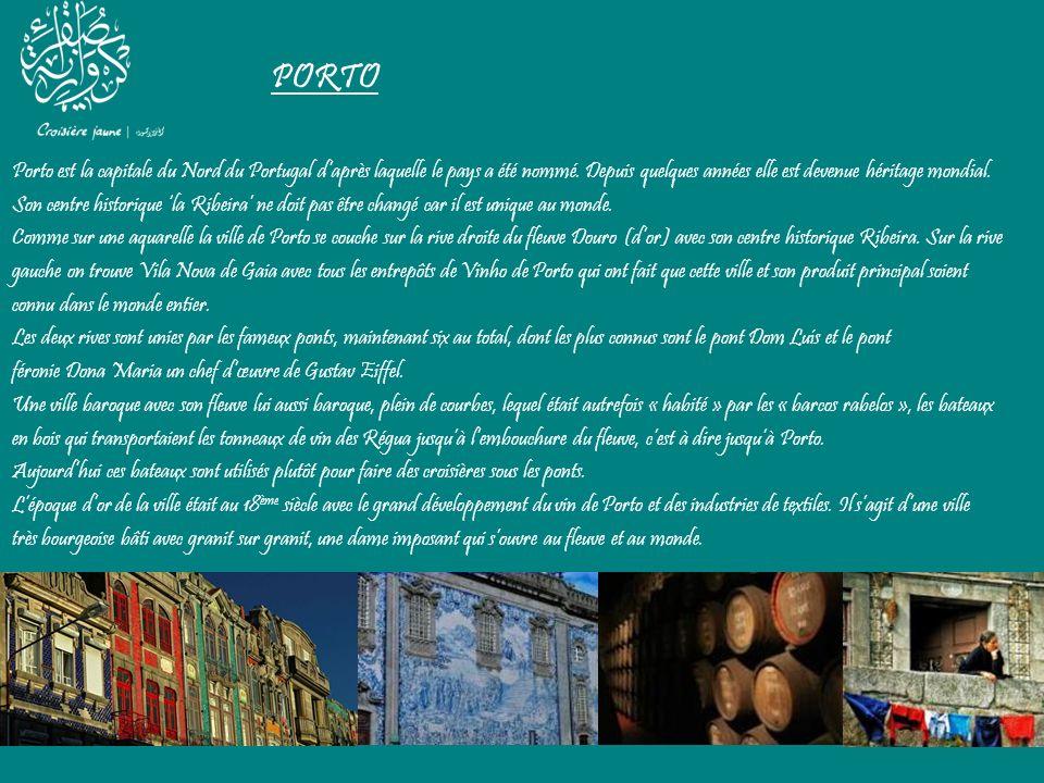 PORTO Porto est la capitale du Nord du Portugal d'après laquelle le pays a été nommé. Depuis quelques années elle est devenue héritage mondial.
