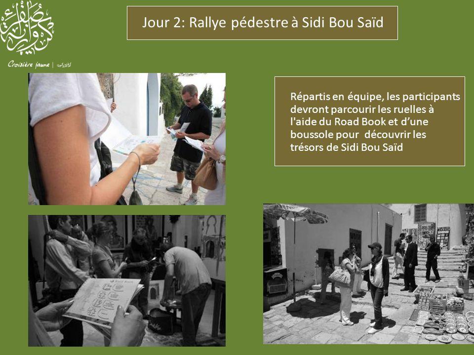 Jour 2: Rallye pédestre à Sidi Bou Saïd