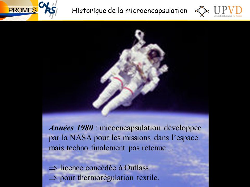Années 1980 : micoencapsulation développée