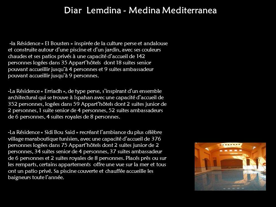 Diar Lemdina - Medina Mediterranea
