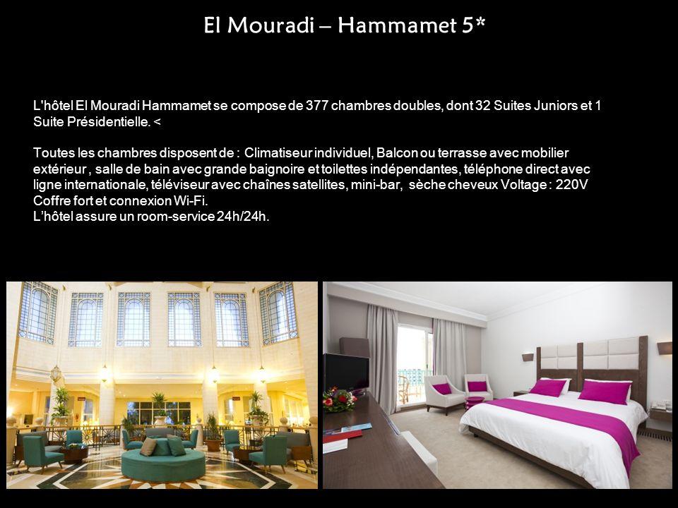 El Mouradi – Hammamet 5*