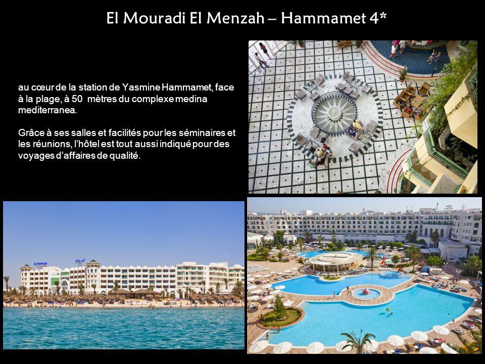 El Mouradi El Menzah – Hammamet 4*