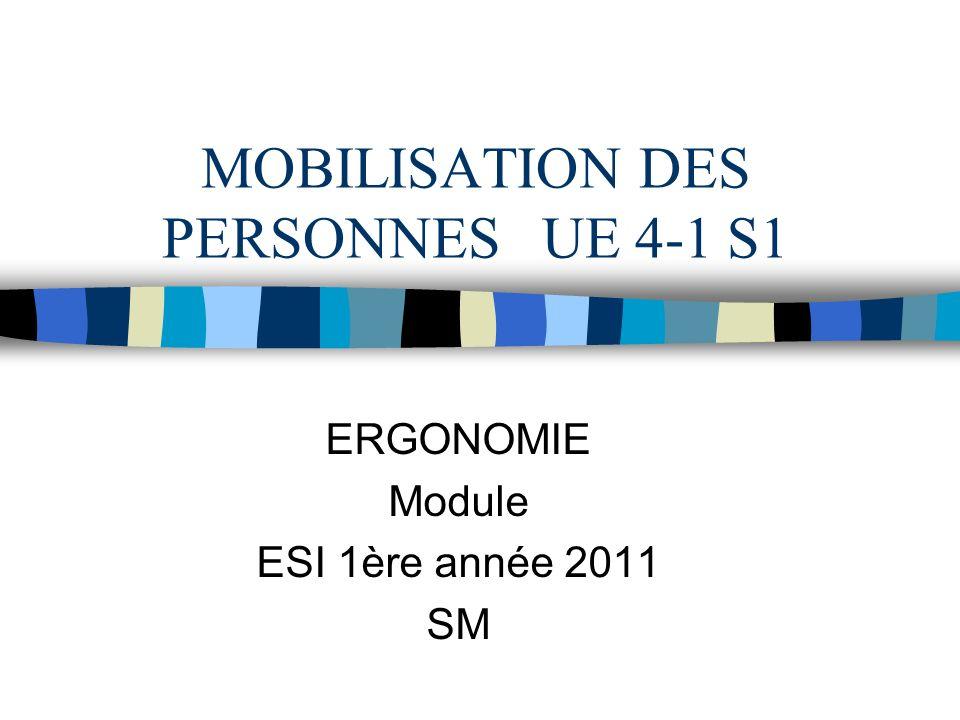MOBILISATION DES PERSONNES UE 4-1 S1