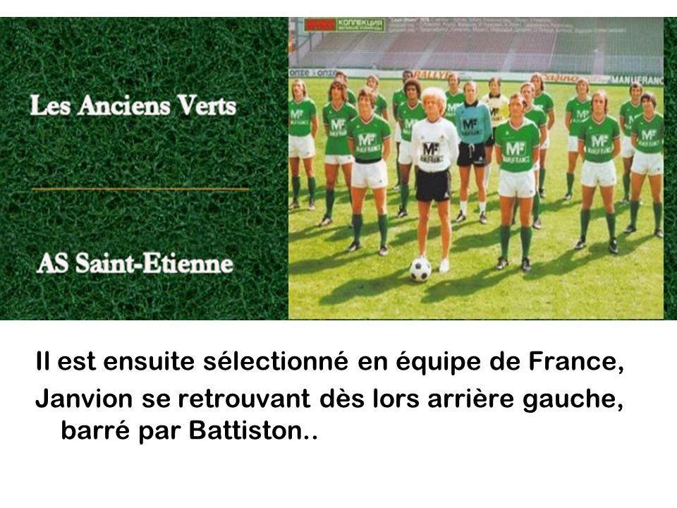 Il est ensuite sélectionné en équipe de France,