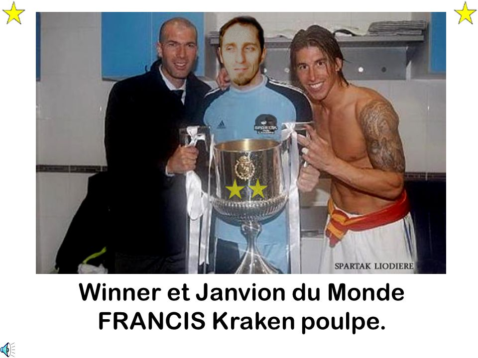 Winner et Janvion du Monde