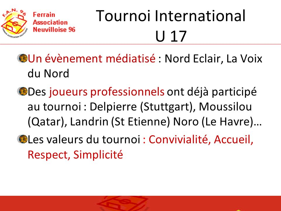 Tournoi International U 17
