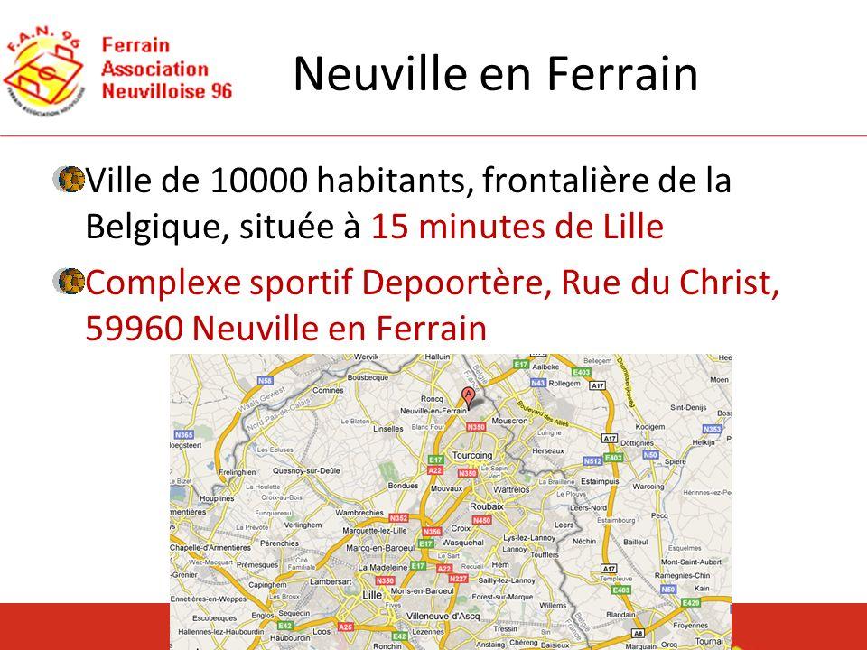 Neuville en Ferrain Ville de 10000 habitants, frontalière de la Belgique, située à 15 minutes de Lille.