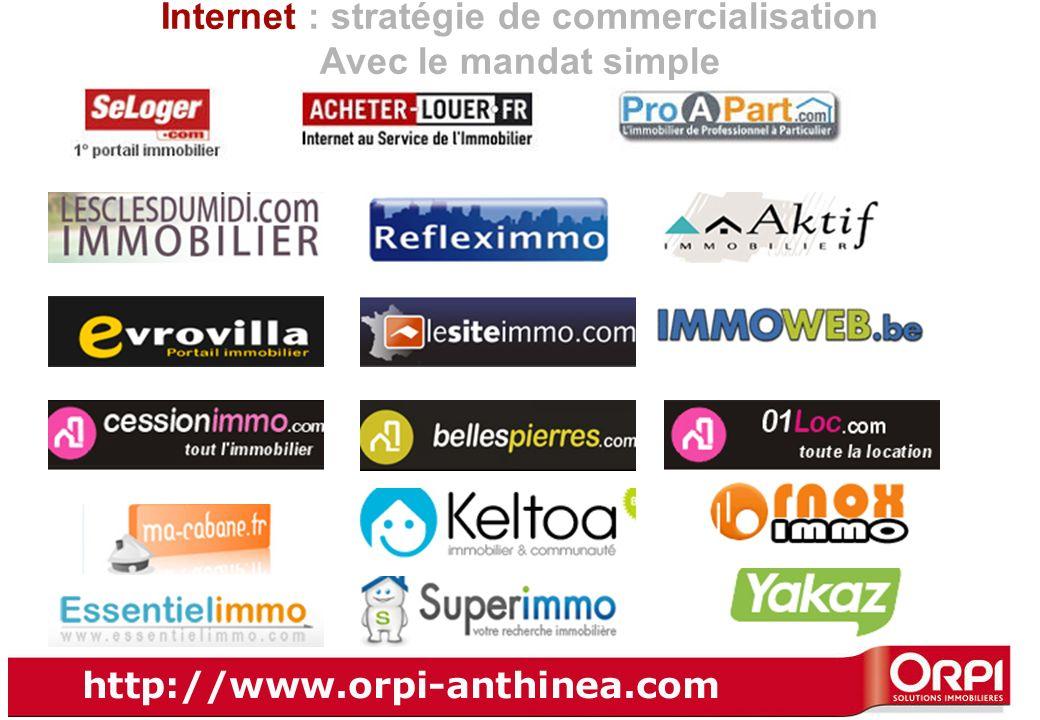 Internet : stratégie de commercialisation