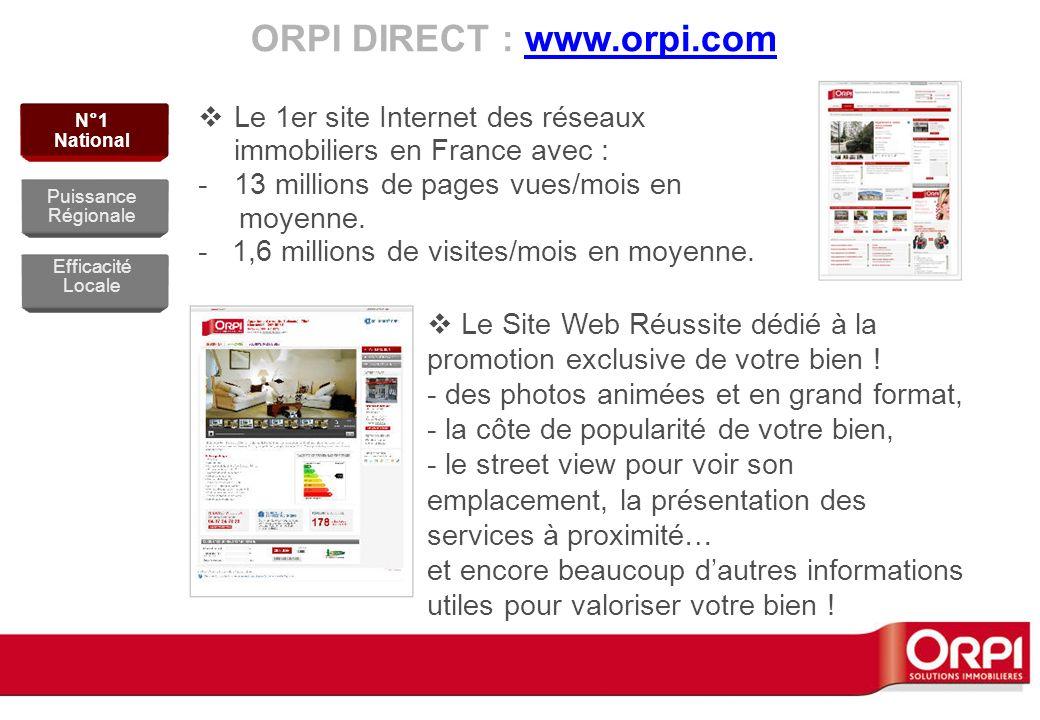 ORPI DIRECT : www.orpi.com