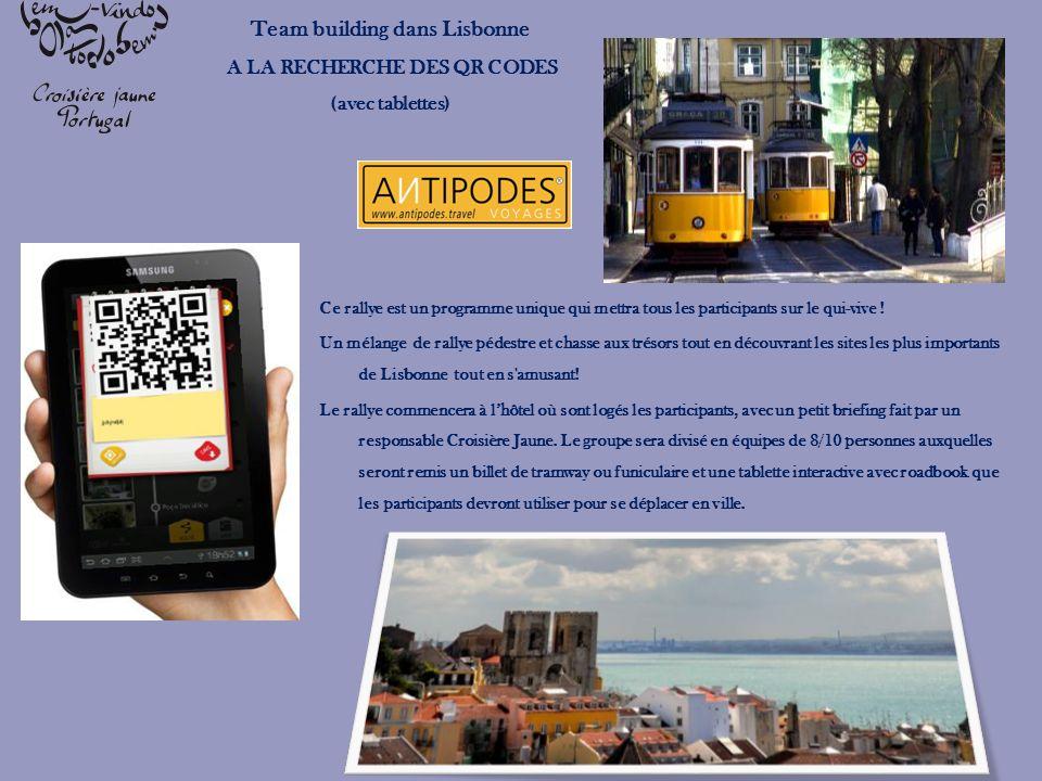 Team building dans Lisbonne