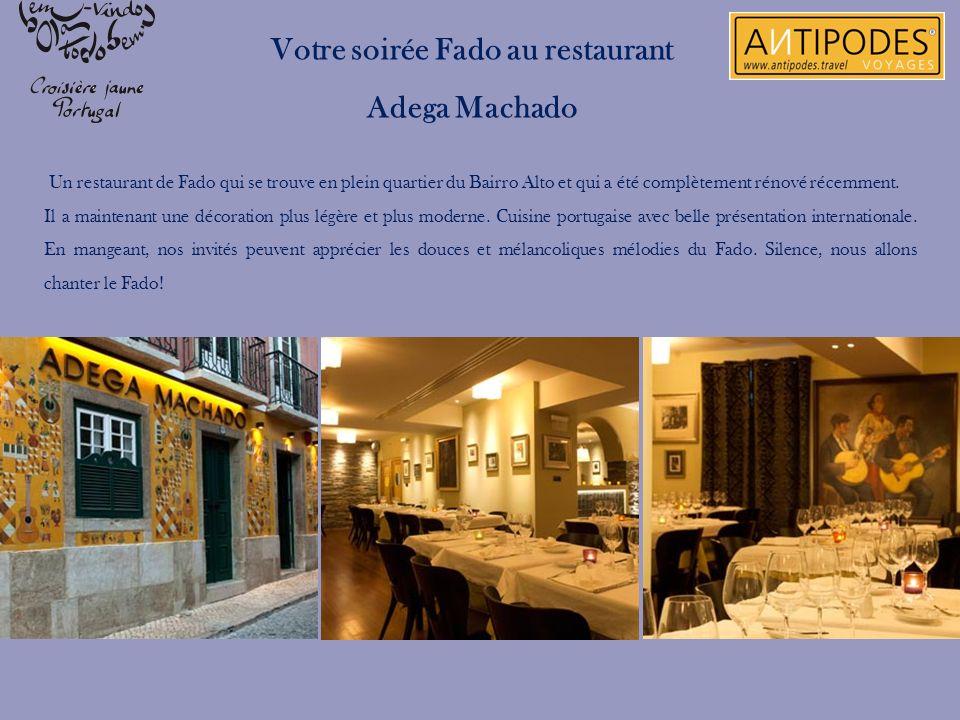Votre soirée Fado au restaurant