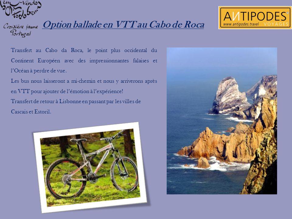 Option ballade en VTT au Cabo de Roca