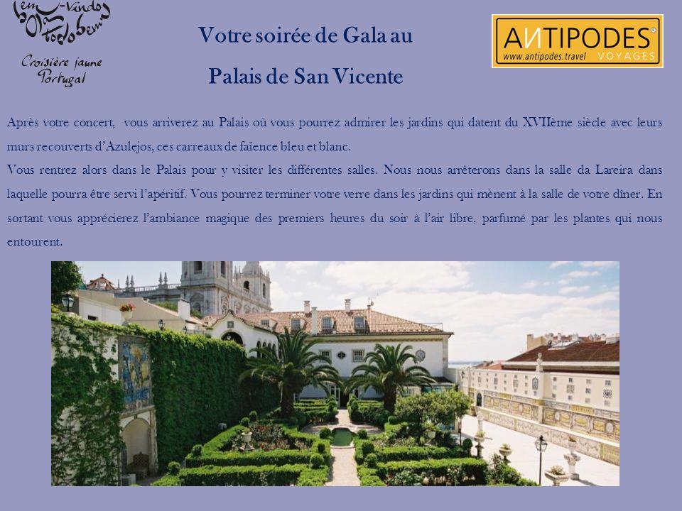 Votre soirée de Gala au Palais de San Vicente