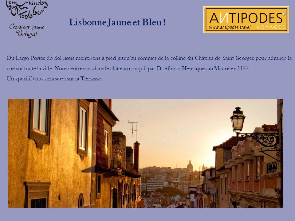 Lisbonne Jaune et Bleu !