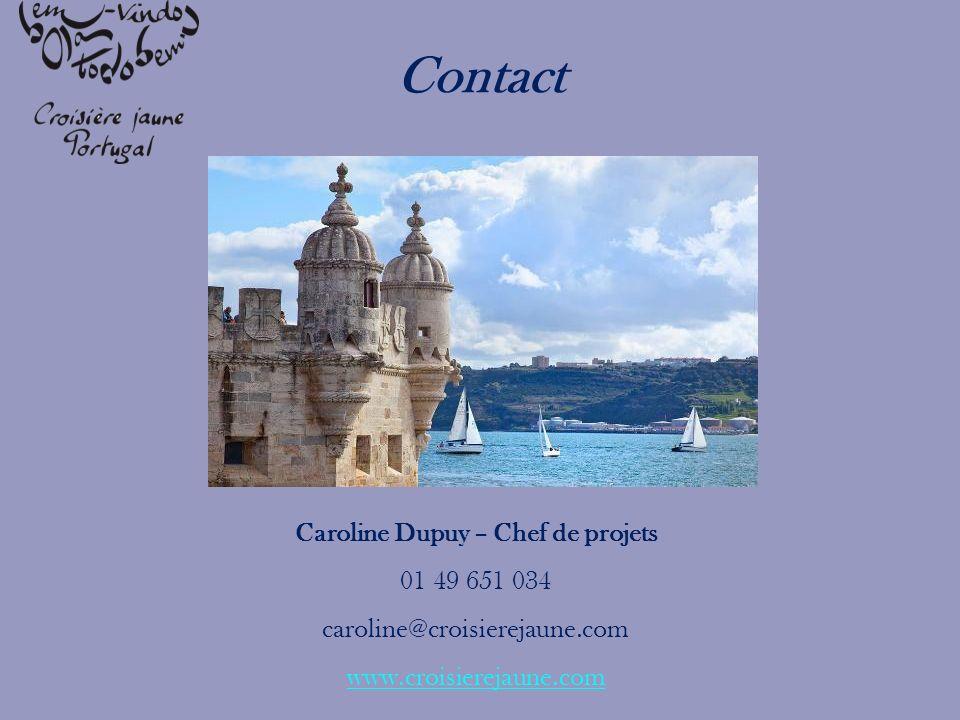 Caroline Dupuy – Chef de projets