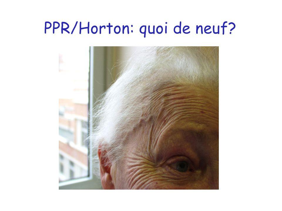 PPR/Horton: quoi de neuf