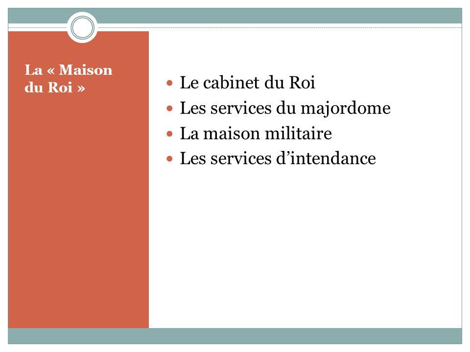 Les services du majordome La maison militaire