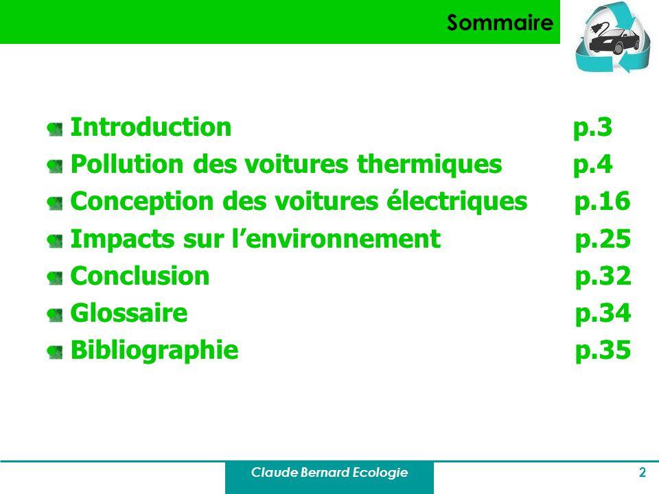Claude Bernard Ecologie