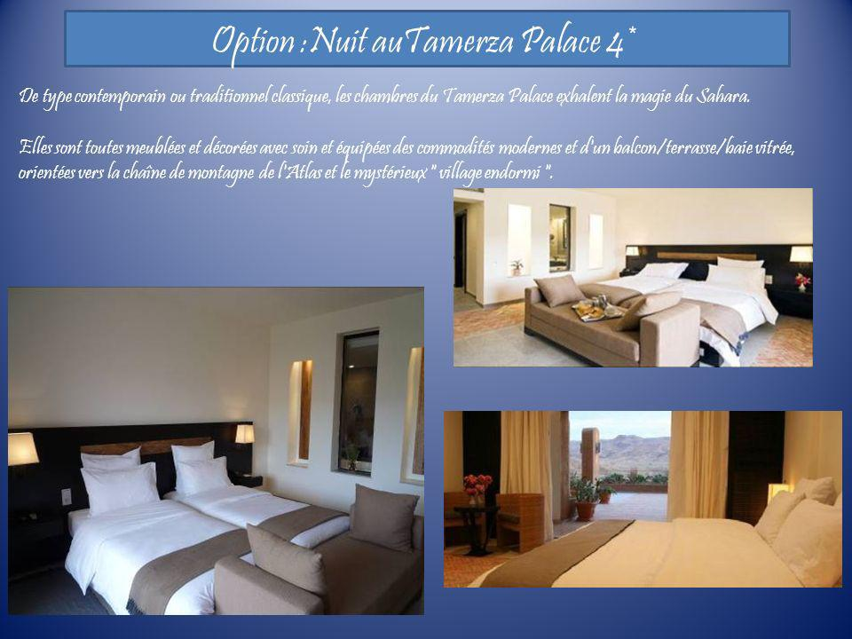 Option :Nuit auTamerza Palace 4*