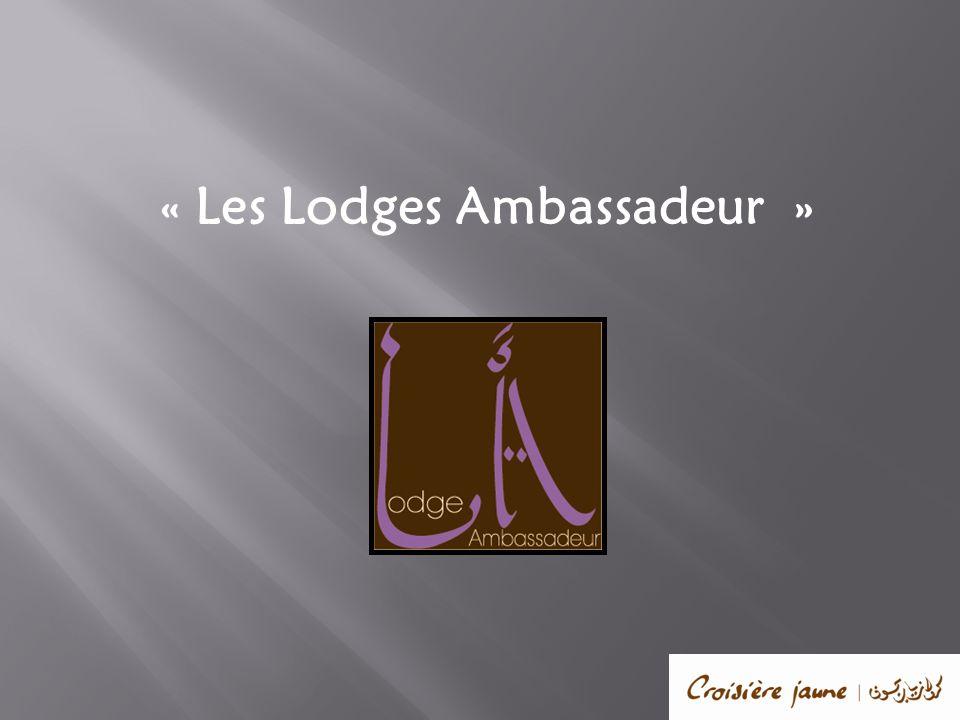 « Les Lodges Ambassadeur »
