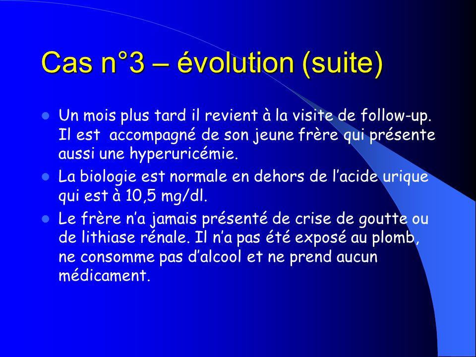 Cas n°3 – évolution (suite)