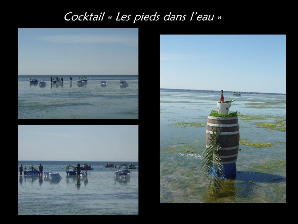 Cocktail « Les pieds dans l'eau »