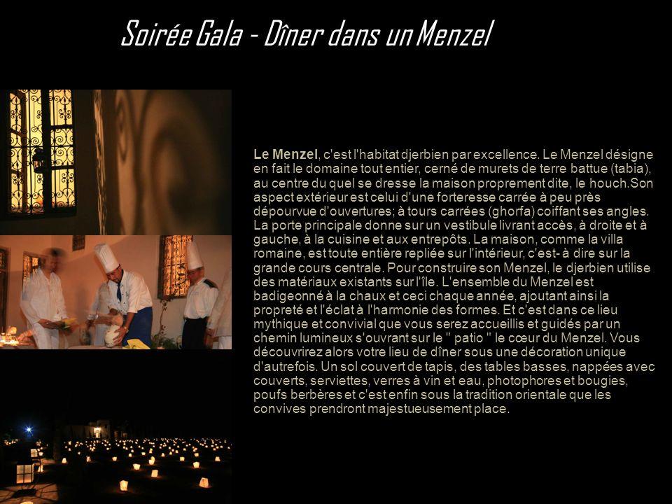 Soirée Gala - Dîner dans un Menzel