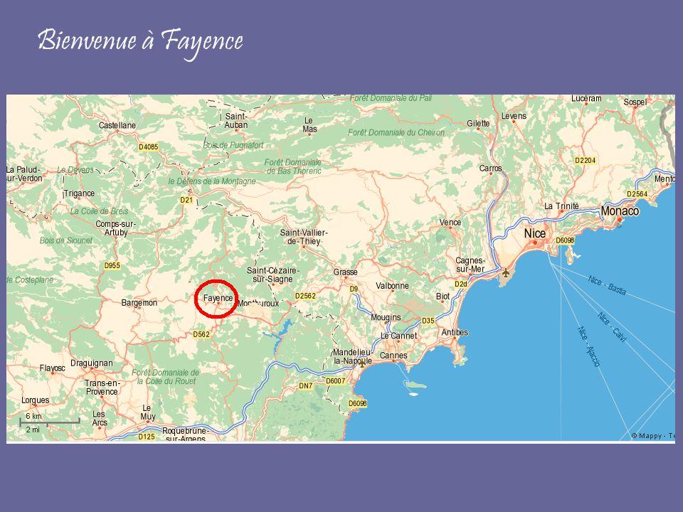 Bienvenue à Fayence