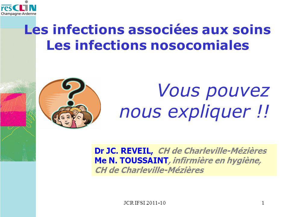 Les infections associées aux soins Les infections nosocomiales