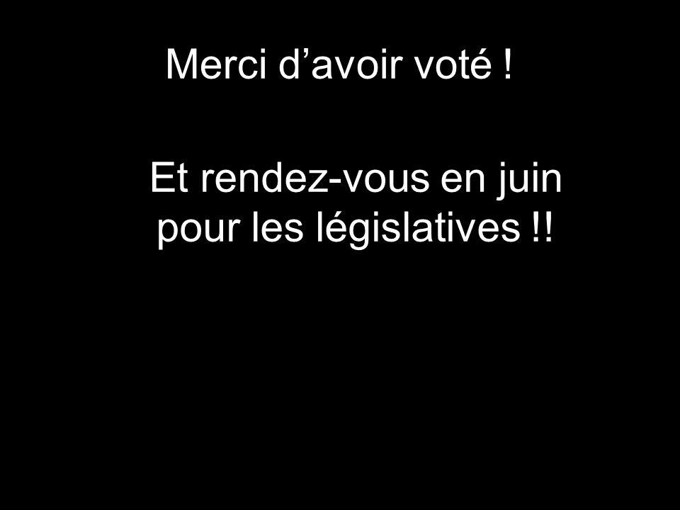 Et rendez-vous en juin pour les législatives !!
