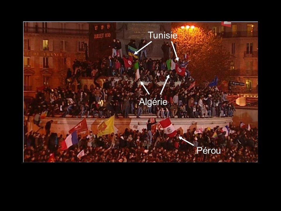 Tunisie Algérie Pérou