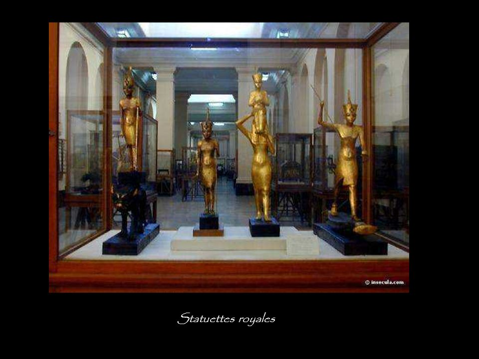 Statuettes royales