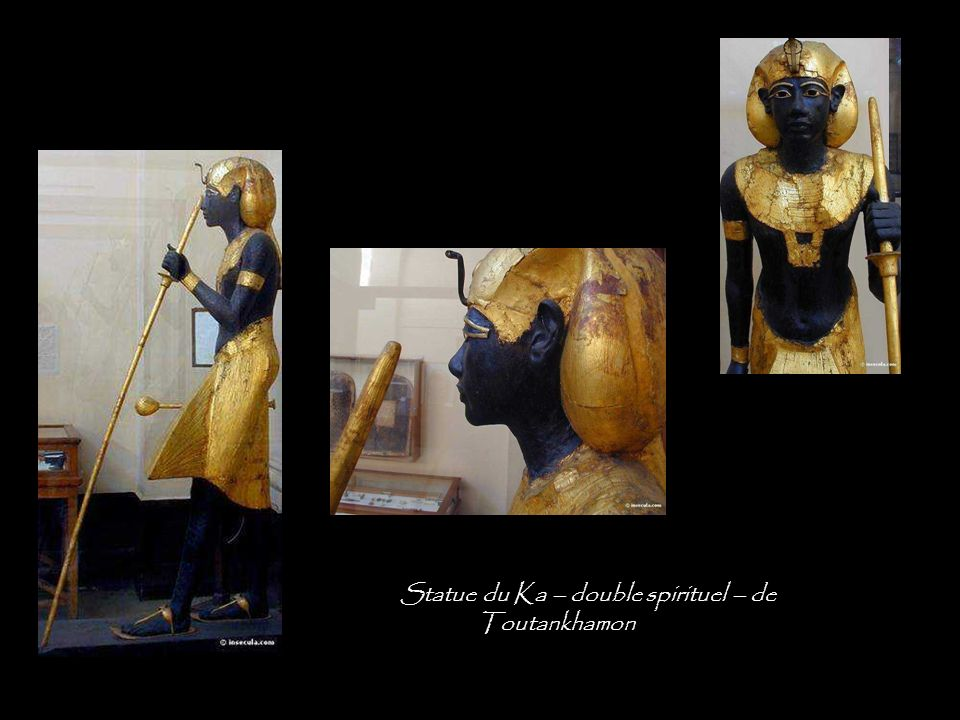 Statue du Ka – double spirituel – de