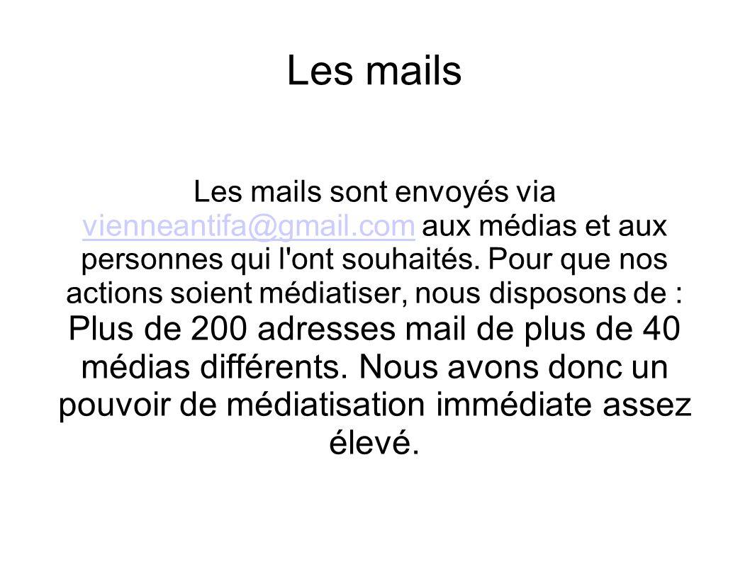Les mails