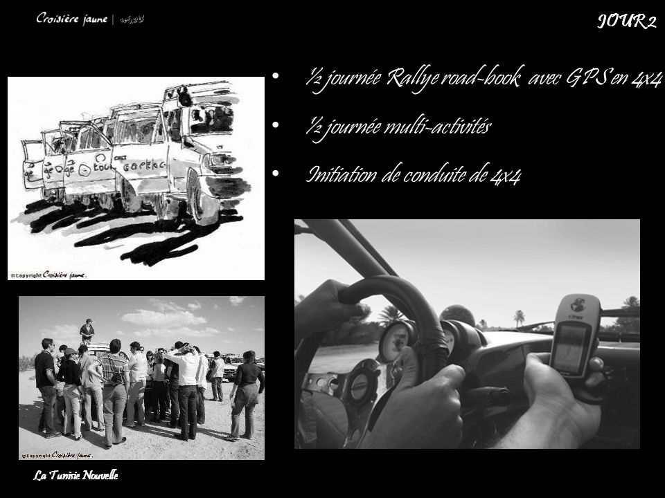 ½ journée Rallye road-book avec GPS en 4x4 ½ journée multi-activités