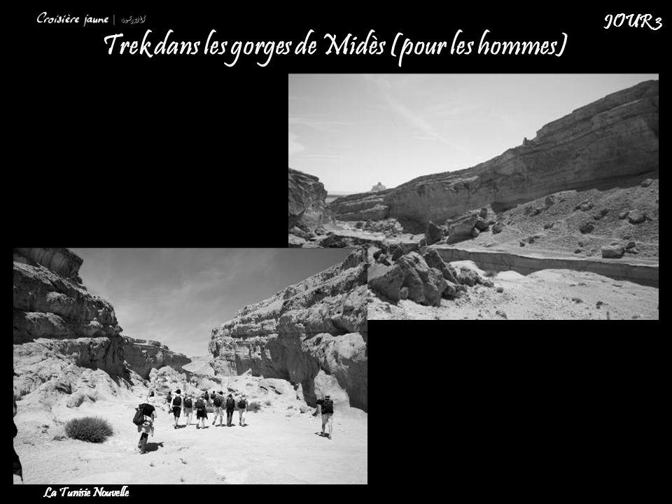 Trek dans les gorges de Midès (pour les hommes)