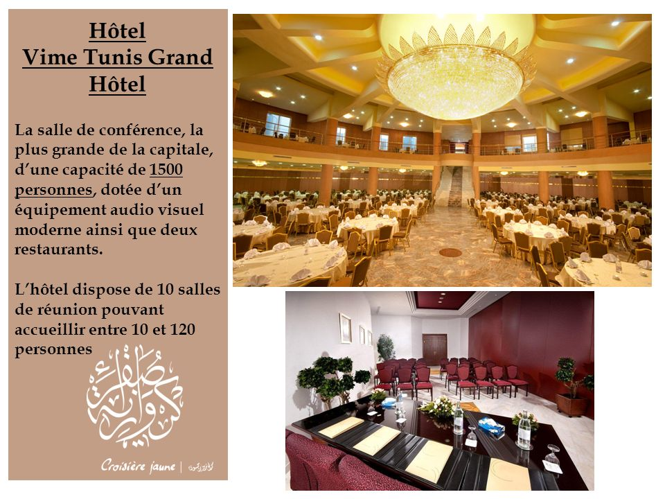 Hôtel Vime Tunis Grand Hôtel