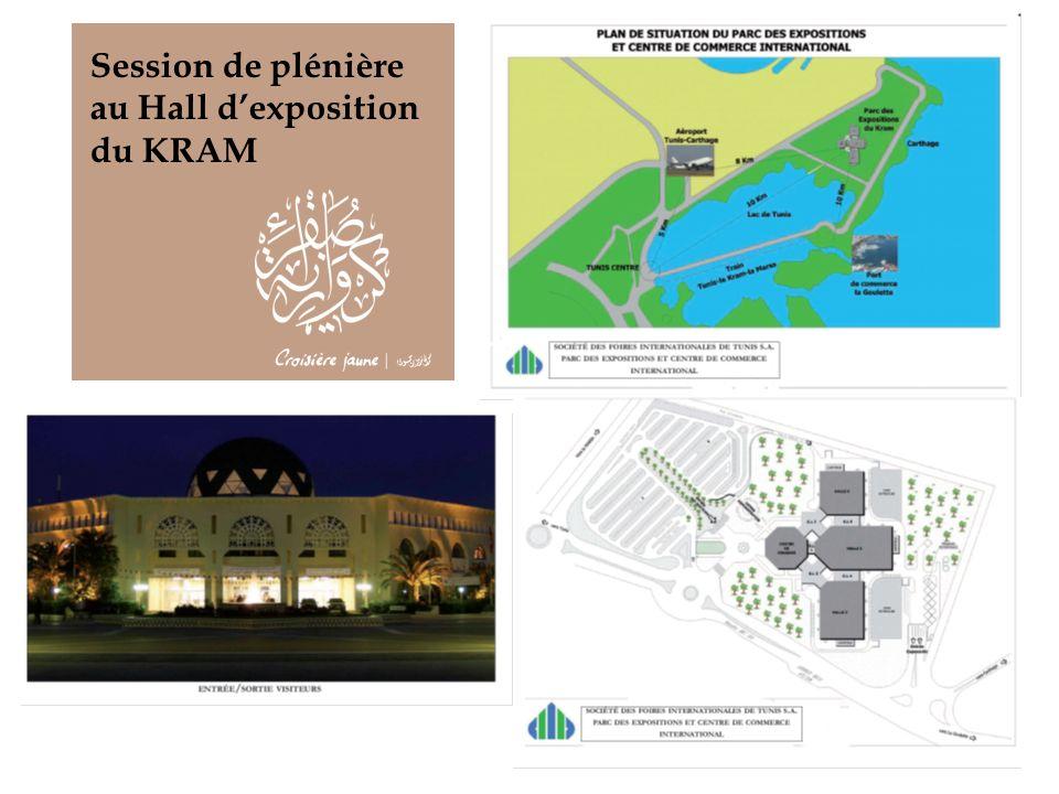 Session de plénière au Hall d'exposition du KRAM