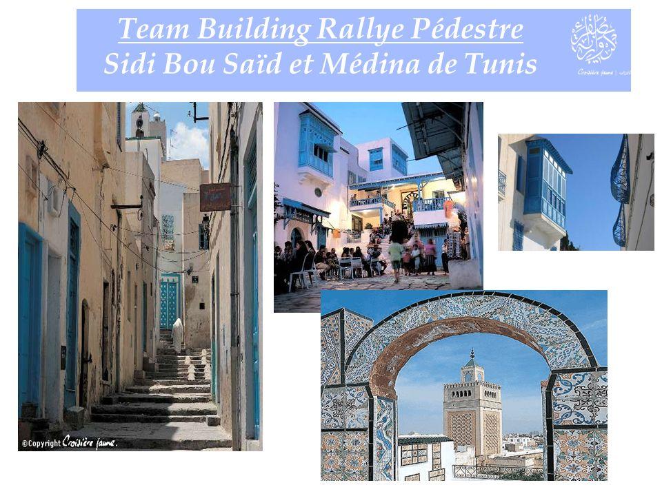 Team Building Rallye Pédestre Sidi Bou Saïd et Médina de Tunis