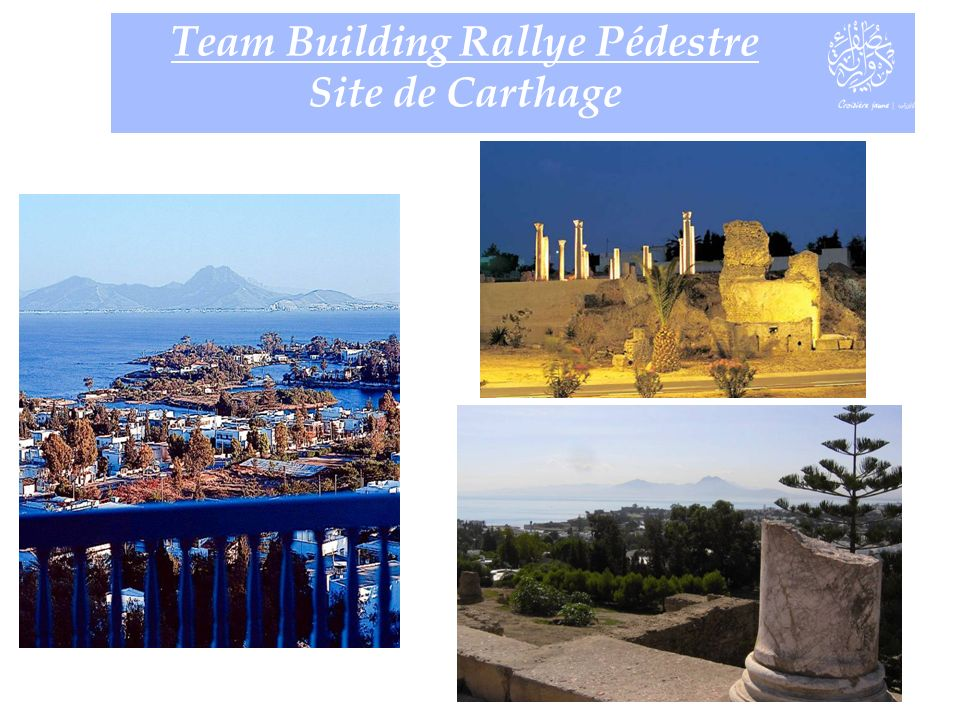 Team Building Rallye Pédestre Site de Carthage